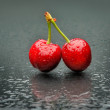 Ripen cherry — Stock Photo