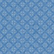 Seamless Blue & White Lacy Background Wallpaper — Stock Photo