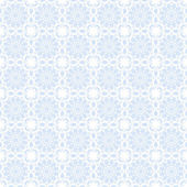 Seamless Pale Blue Kaleidoscope Mandala Background Wallpaper — Stock Photo