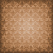Shaded Warm Brown Damask Background Wallpaper - Stock Photo