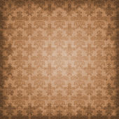 Shaded Warm Brown Damask Background Wallpaper — Stock Photo