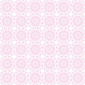 Seamless Pale Pink Kaleidoscope Mandala Background Wallpaper — Stock Photo