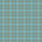Seamless Aqua & Brown Plaid Background Wallpaper — Stock Photo