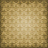 Shaded Sepia Brown Damask Background — Stock Photo