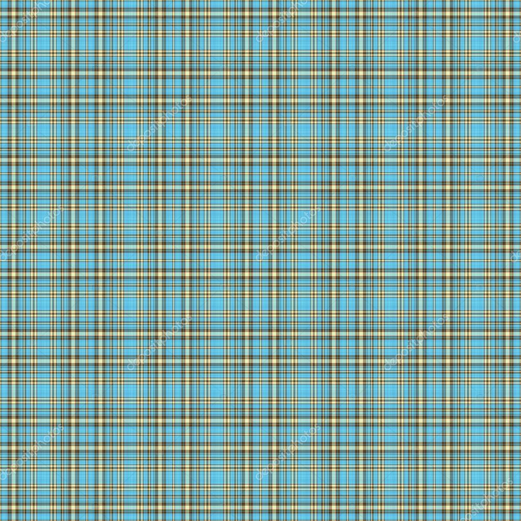 Brown Plaid Wallpaper: Seamless Aqua & Brown Plaid Background Wallpaper