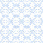 Seamless Pale Blue Damask Background Wallpaper — Stock Photo