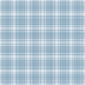 Seamless Light Blue & White Plaid Background — Stock Photo