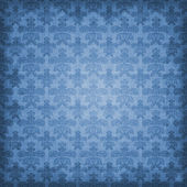 Shaded Blue Damask Background — Stock Photo