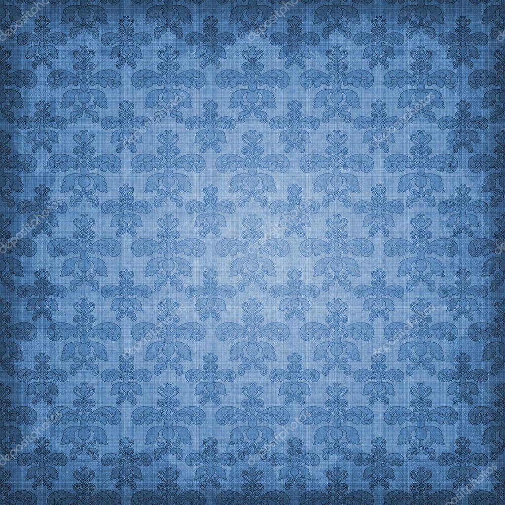 Royal blue vintage background