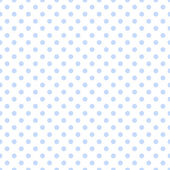 Pale Blue Polka Dots on White — Stock Photo