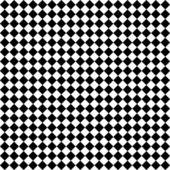 Black & White Diamond Checks — Stock Photo
