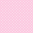 White Polka Dots on Pale Pink — Stock Photo #9264846