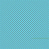Brown Dots on Bright Turquoise — Stock Photo