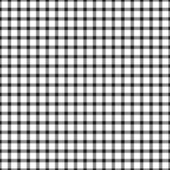 Seamless Black & White Plaid — Stock Photo