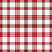 Nahtlose rot, weiße & schwarz plaid — Stockfoto