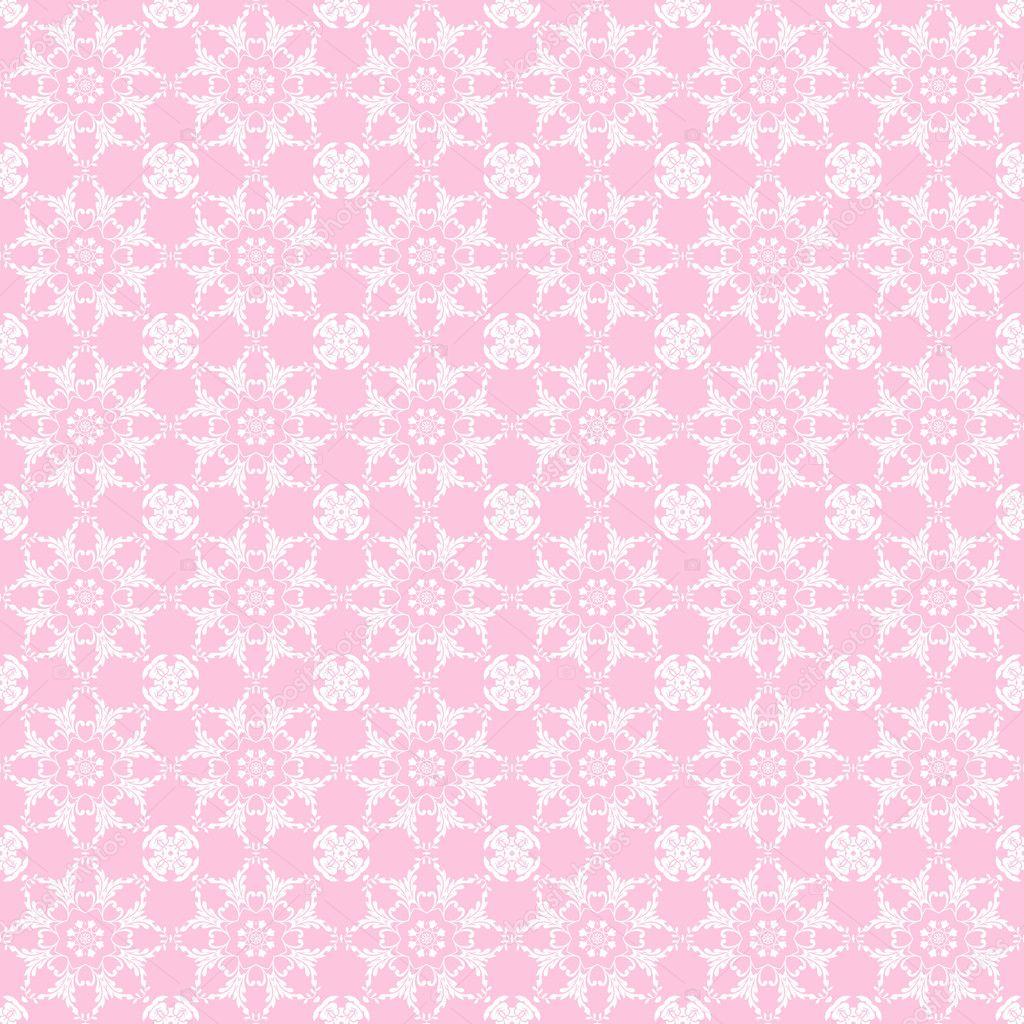 粉色炫彩几何花纹分层分形手机壁纸梦幻万花筒