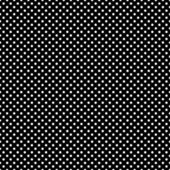 Seamless White Dots on Black — Stock Photo