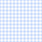 Seamless Light Blue Gingham Plaid — Stock Photo
