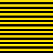 Seamless Black & Yellow Stripes — Stockfoto