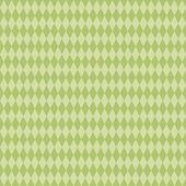 Seamless Green Diamond Background — Stock Photo