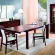 Stock Photo: Modern dinning room