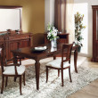 Classic style dinning room — Stock Photo #10591701