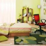 Modern bedroom — Stock Photo #10591998