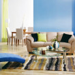 Modern colorful living room — Stock Photo #10592002