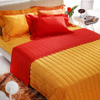 Stock Photo: Modern colorful bedroom