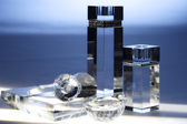 Luxury perfume bottles — Stock Photo
