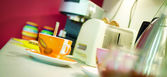 In the kitchen — Stok fotoğraf