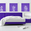 New-classic bedroom — Stock Photo #9145816