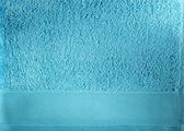 Blue towel closeup — Stock Photo
