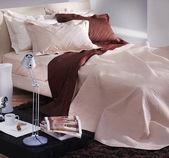 Intérieur de la chambre à coucher couleur naturelle — Photo