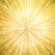 Gold sparkle backgorund — Stock Photo
