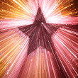 Abstract colorful star background — Stock fotografie