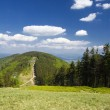 Polish mountains Beskidy — Stockfoto
