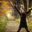 Woman autumn portrait — Stock Photo #8902756