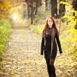 Woman autumn portrait — Stock Photo #8902789