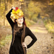 Woman autumn portrait — Stock Photo #8903038