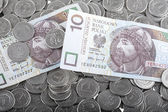 Polish money — Foto Stock