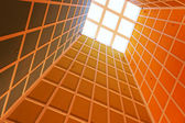 Ceiling windows — Stock Photo