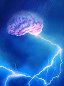 Hersenen storm — Stockfoto