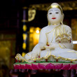 Stock Photo: White Buddha