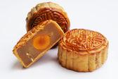 Traditioneel mooncakes — Stockfoto