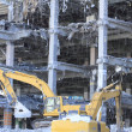 Industrial dismantle, mechanical destruction — Stock Photo #9022414