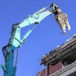 Industrial dismantle, mechanical destruction — Stock Photo #9022473