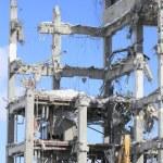 Industrial dismantle, mechanical destruction — Stock Photo #9022518