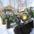Tractor in winter — Stock Photo #9082164