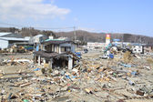 The Great East Japan Earthquake — Stock Photo